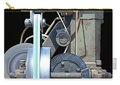 Gears Carry-all Pouch by Kristin Elmquist