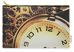 Gears Of Time Travel Carry-all Pouch