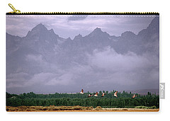 Geese, Grand Tetons Carry-all Pouch