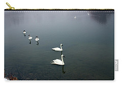 Geese In A Row Carry-all Pouch