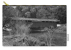 Geiger Covered Bridge B/w Carry-all Pouch