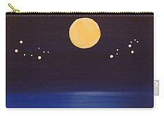 Gemini And Leo Carry-all Pouch by Alys Caviness-Gober