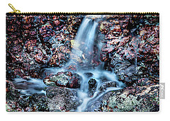 Carry-all Pouch featuring the photograph Gemstone Falls by Az Jackson