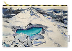 Gemstone Lake Carry-all Pouch