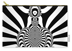 Carry-all Pouch featuring the digital art Genaritory by Andrew Kotlinski