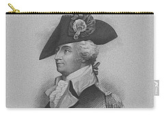 Carry-all Pouch featuring the mixed media General Anthony Wayne by War Is Hell Store
