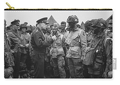 General Eisenhower On D-day  Carry-all Pouch