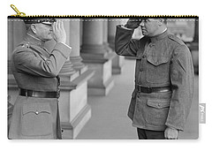 General John Pershing Saluting Babe Ruth Carry-all Pouch by War Is Hell Store