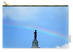 General Robert E. Lee Mounment In Retro Spectrum Carry-all Pouch