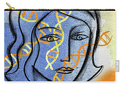 Carry-all Pouch featuring the painting Genetics by Leon Zernitsky