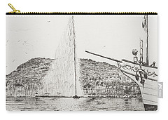 Fountain Pen Drawings Carry-All Pouches