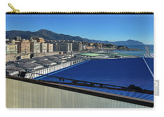 Genova Town Landscape From Abandoned Office Building Roof Carry-all Pouch