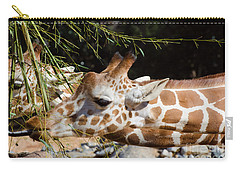 Carry-all Pouch featuring the photograph Gentle Beauty by Donna Brown
