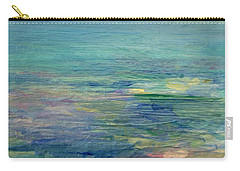 Gentle Light On The Water Carry-all Pouch