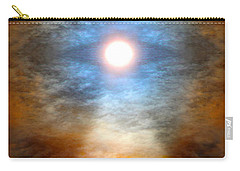 Gentle Mantra Om Light Glowing Into The Sea Carry-all Pouch by Wernher Krutein