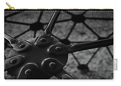 Carry-all Pouch featuring the photograph Geodome Climber 2 by Richard Rizzo