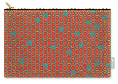 Carry-all Pouch featuring the digital art Geometric 1 by Bonnie Bruno