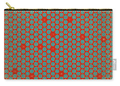 Carry-all Pouch featuring the digital art Geometric 2 by Bonnie Bruno