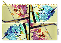 Geometric Blossoms Carry-all Pouch