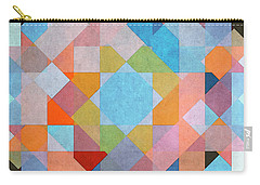 Carry-all Pouch featuring the digital art Geometry by Jutta Maria Pusl