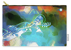 George Benson, Watercolor Carry-all Pouch
