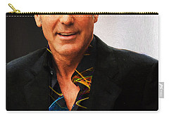 George Clooney Painting Carry-all Pouch