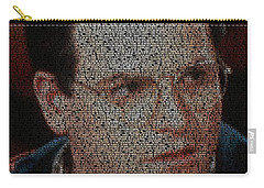George Costanza Quotes Mosaic Carry-all Pouch by Paul Van Scott