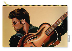 George Michael Painting Carry-all Pouch by Paul Meijering
