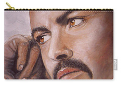 Up Close George Michael  Carry-all Pouch