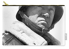 George S. Patton Unknown Date Carry-all Pouch by David Lee Guss
