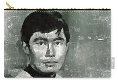 George Takei, Sulu From Star Trek Vintage Carry-all Pouch by Mary Bassett