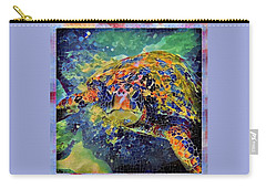 George The Turtle Carry-all Pouch by Erika Swartzkopf