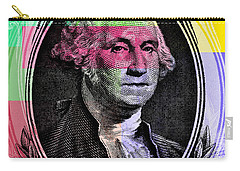 George Washington Pop Art Carry-all Pouch