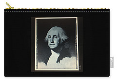 George Washington Carry-all Pouch by Richard W Linford