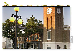 Georgetown Clock South Carolina Carry-all Pouch by Bob Pardue