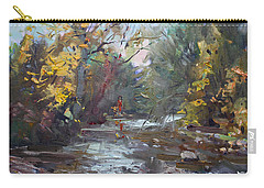 Georgetown Fall Colors Carry-all Pouch by Ylli Haruni