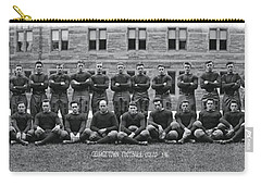 Georgetown U Football Squad Carry-all Pouch by Panoramic Images