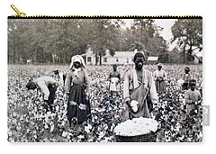 Georgia Cotton Field - C 1898 Carry-all Pouch