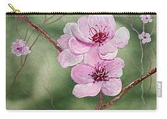 Georgia Peach Blossoms Carry-all Pouch