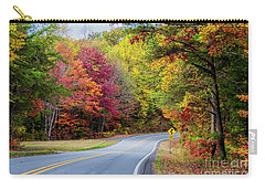 Georgia Scenic Byway Carry-all Pouch by Barbara Bowen