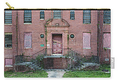 Carry-all Pouch featuring the photograph Georgia State Hospital by Kim Hojnacki