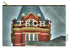 Georgia Tech Tower 8 Georgia Institute Of Technology Art Carry-all Pouch