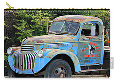 Geraine's Blue Truck Carry-all Pouch