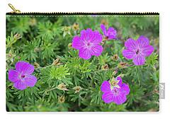 Geranium Carry-all Pouch