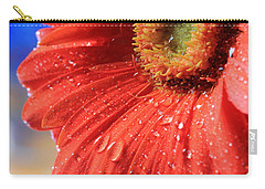 Gerbera Daisy After The Rain Carry-all Pouch