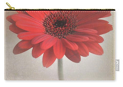 Carry-all Pouch featuring the photograph Gerbera Daisy by Lyn Randle
