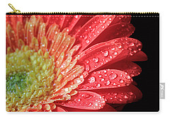 Gerbera Daisy Macro Carry-all Pouch