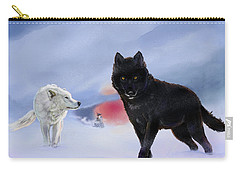 Geri And Freki Carry-all Pouch