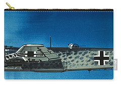 German Aircraft Of World War  Two Focke Wulf Condor Bomber Carry-all Pouch