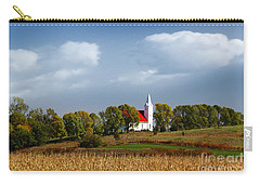 German Church On The Hill Carry-all Pouch by Yumi Johnson